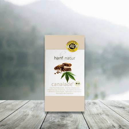 Chocolat CANNALADE - Chocolat au Lait au Chanvre Bio