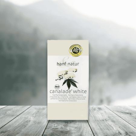 Chocolat CANNALADE - Chocolat Blanc au Chanvre Bio