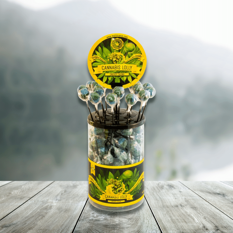 Sucette au Cannabis Energy Skunk - THC 0%