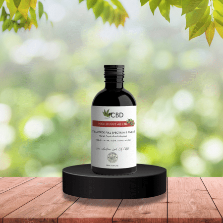 huile d'olive au cbd